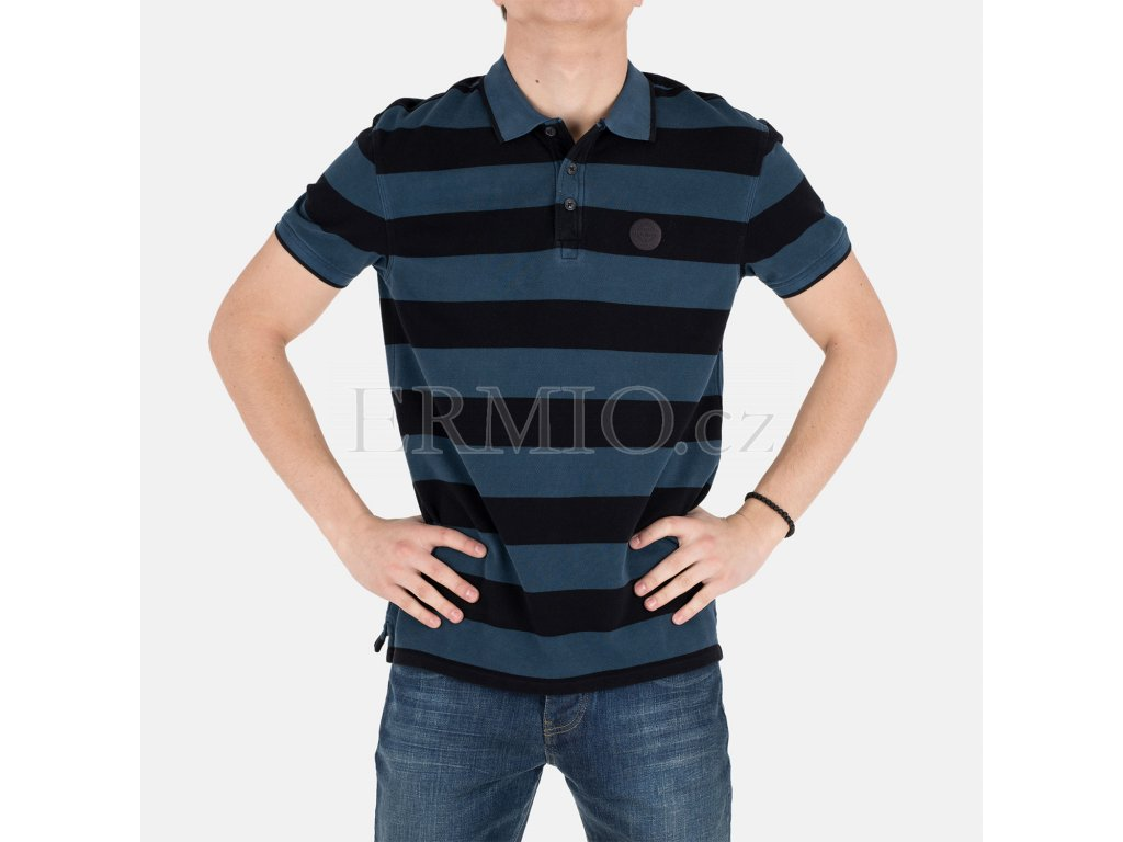 Pruhované polo Armani Jeans