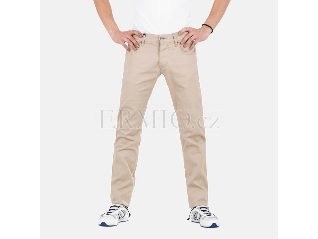 Béžové rifle Armani Jeans