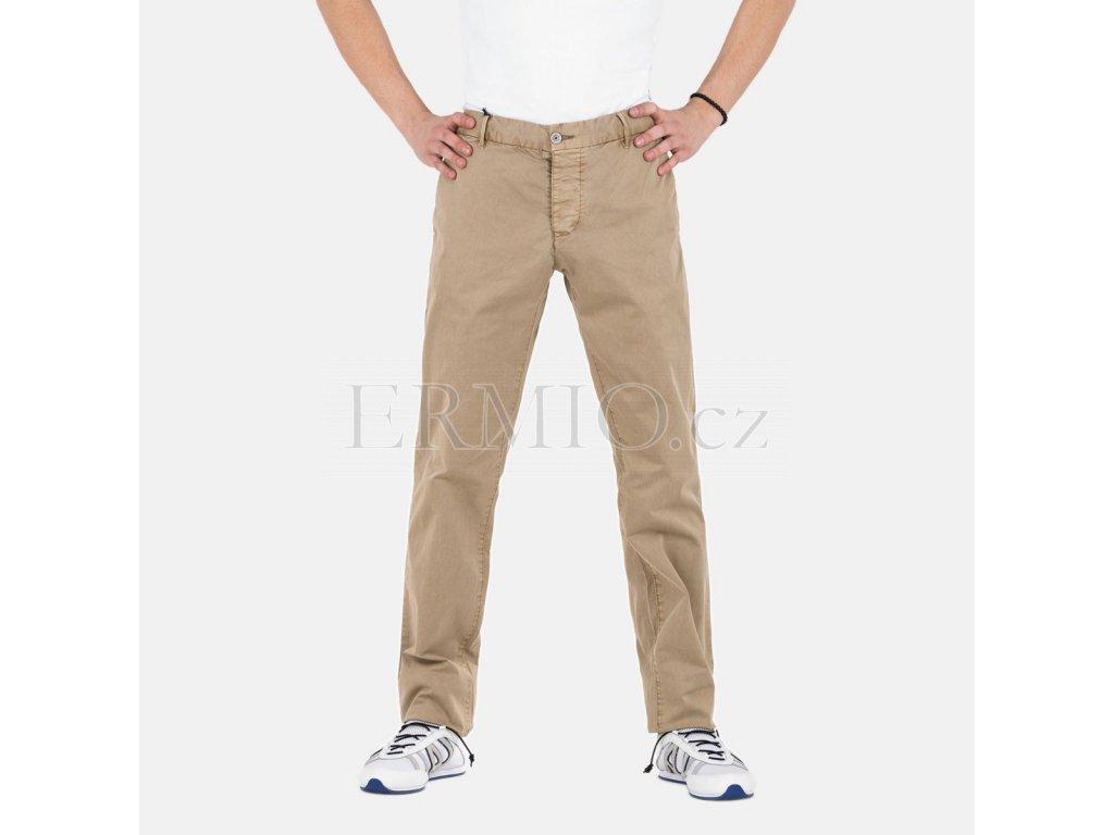 Pánské béžové kalhoty AJ