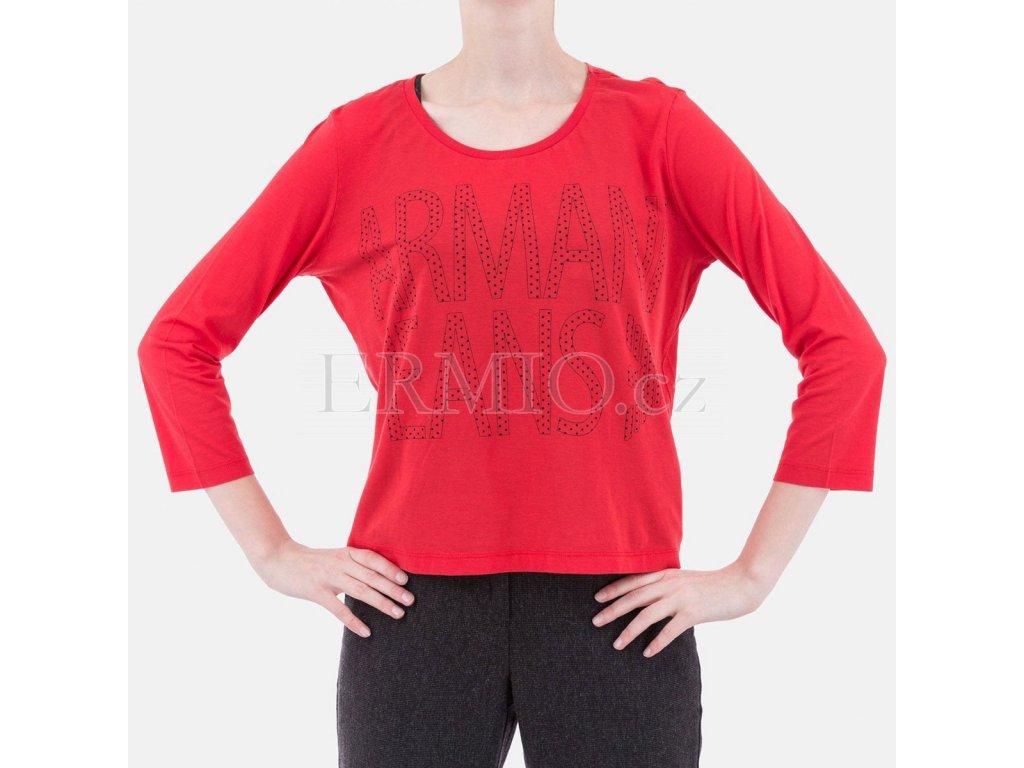 Outfit triko Armani červené