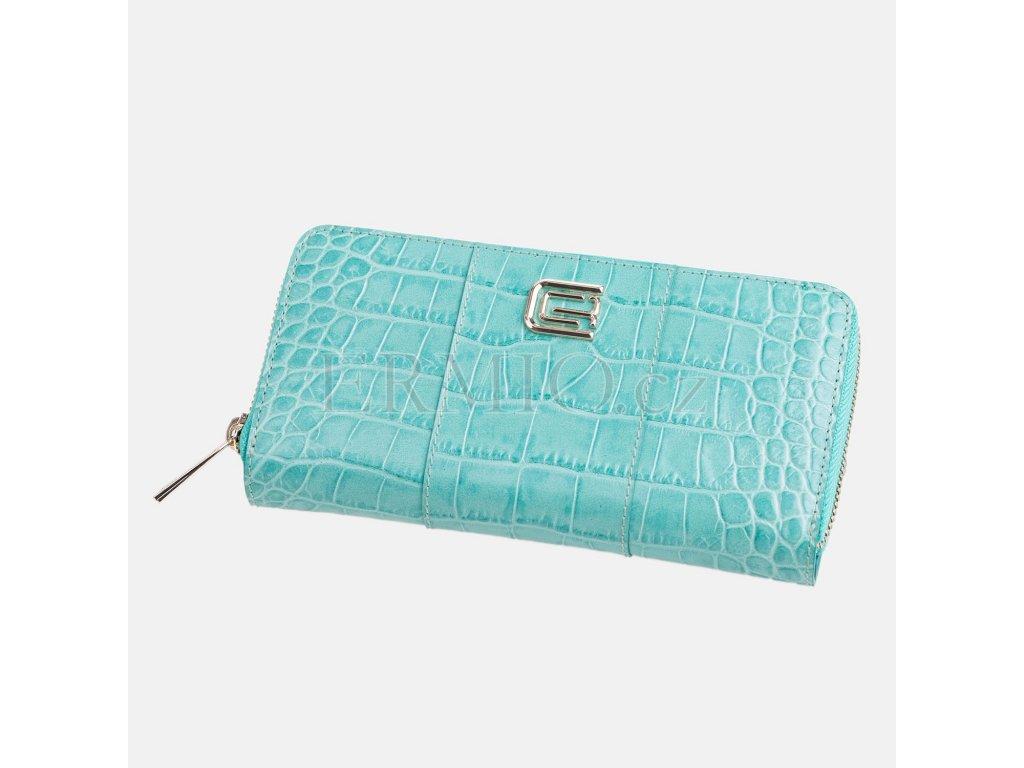 Tyrkysová peněženka Cavalli