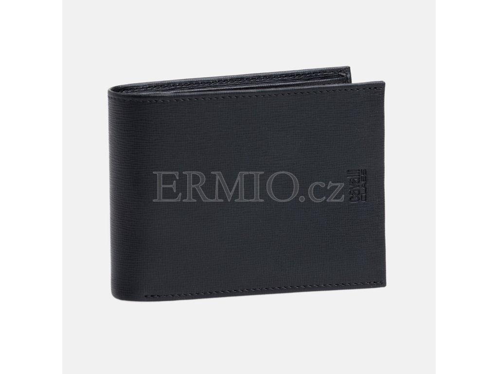 Černá pánská peněženka Cavalli