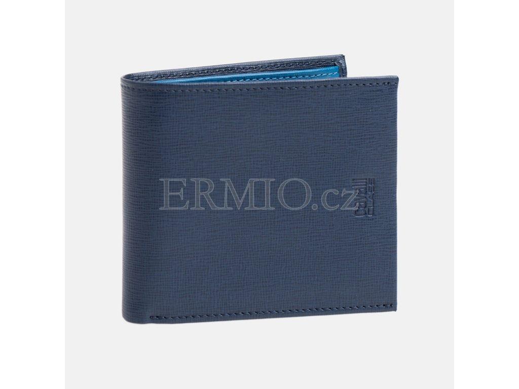 Modrá pánská peněženka Cavalli
