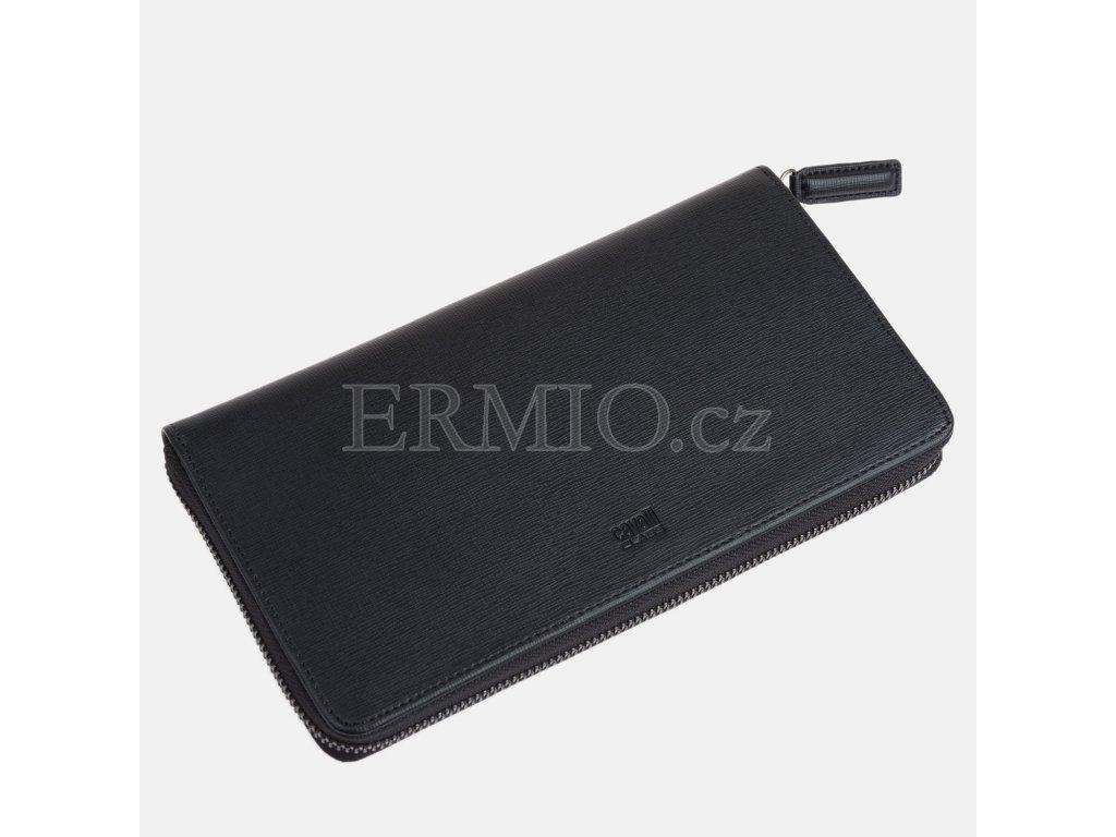 Pánská černá peněženka Cavalli