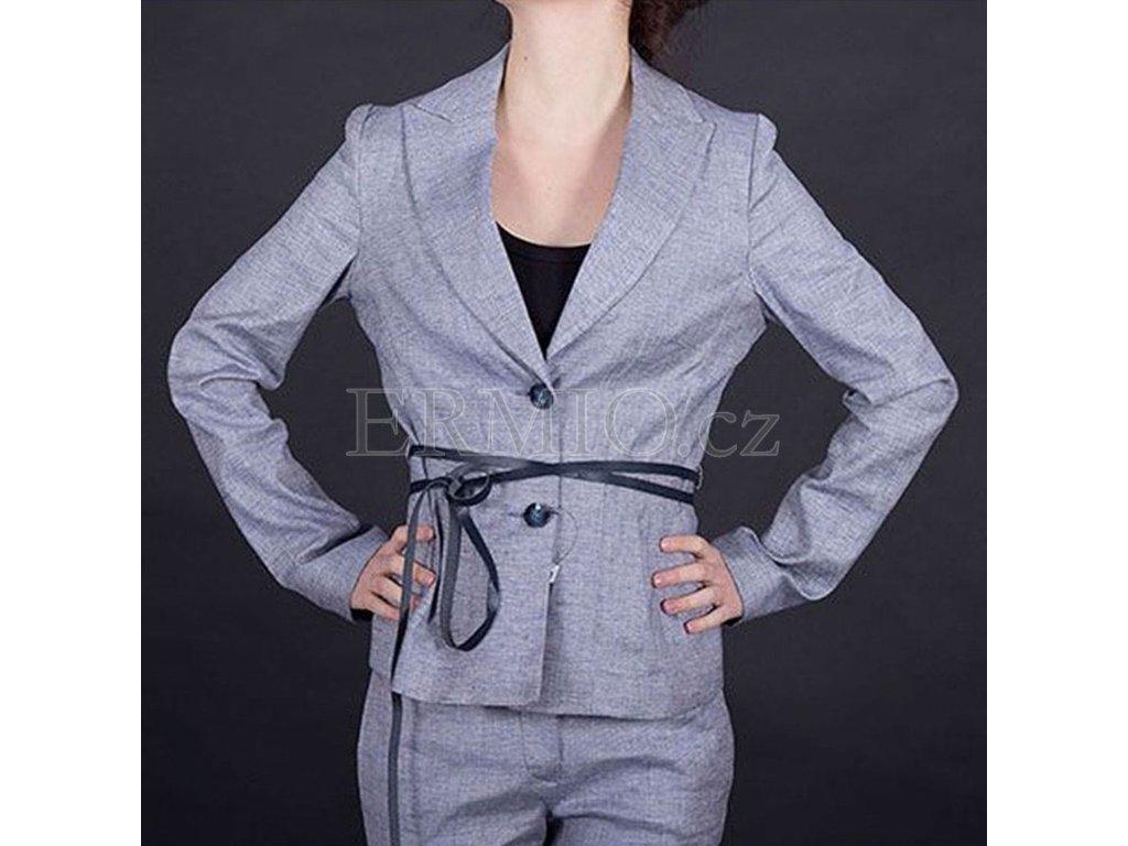 Stylové dámské sako Armani Jeans modré