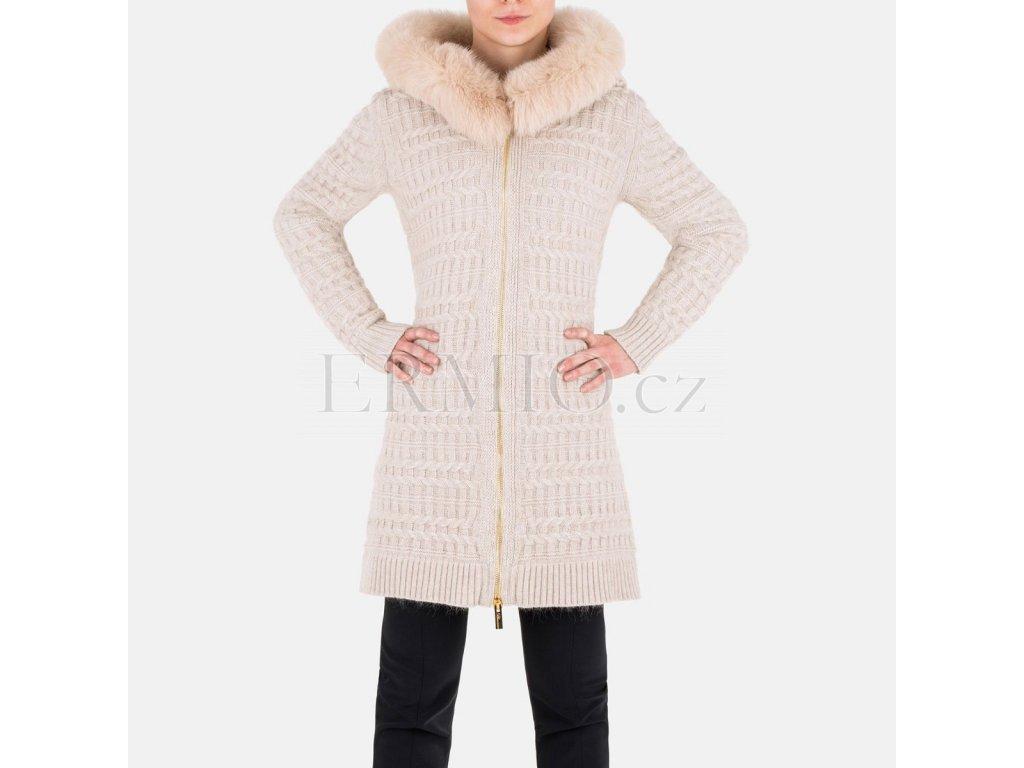 Dámský kabát Blumarine béžové