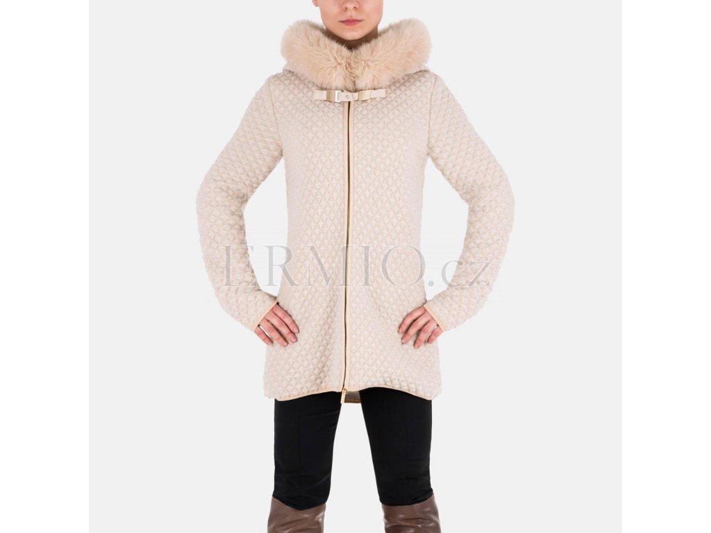 Dámský béžový kabát Blumarine