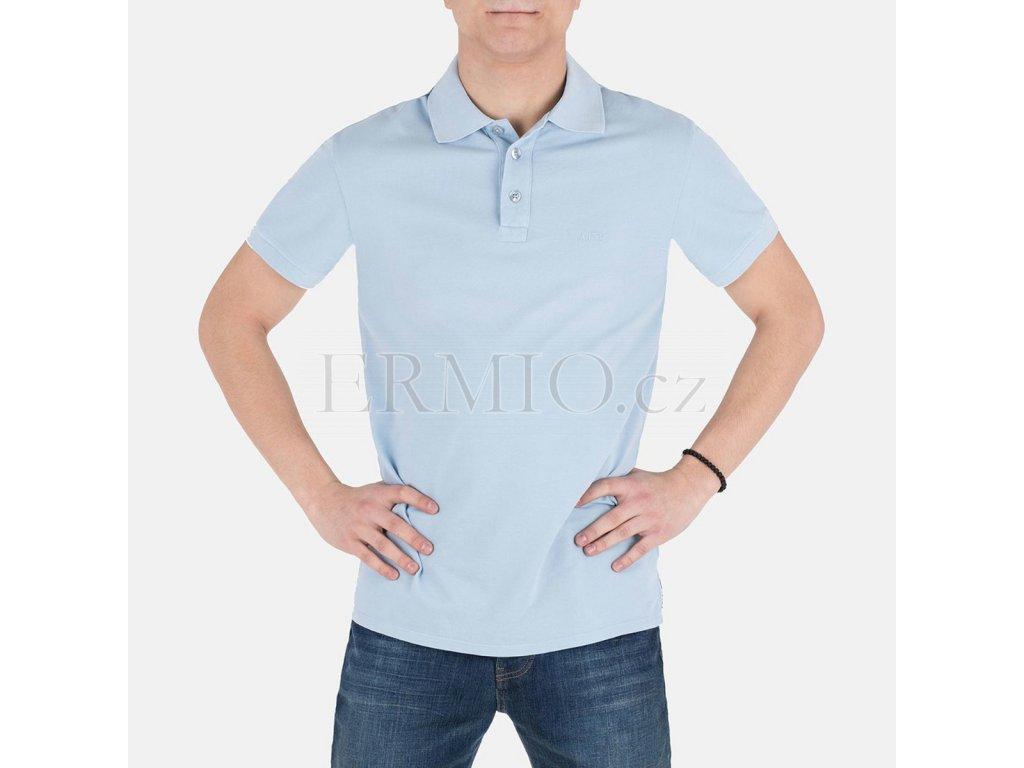 Světle modré polo Armani Jeans