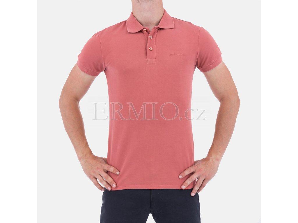 Pánské polo tričko AJ koralové