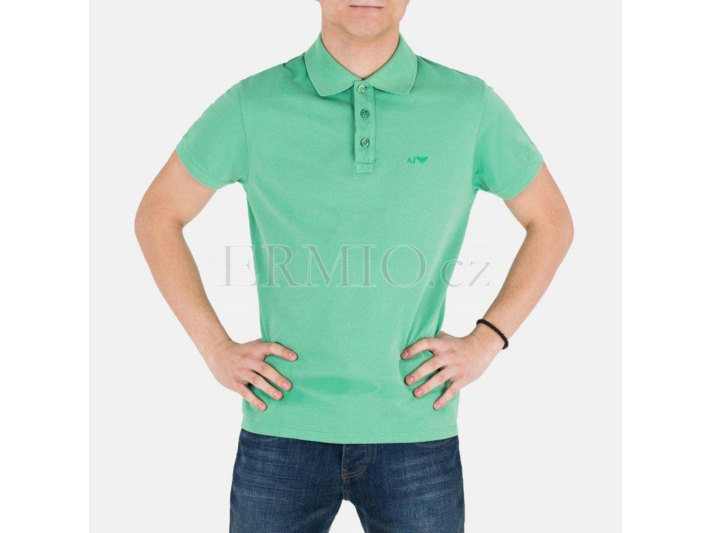 Zelené polo Armani Jeans