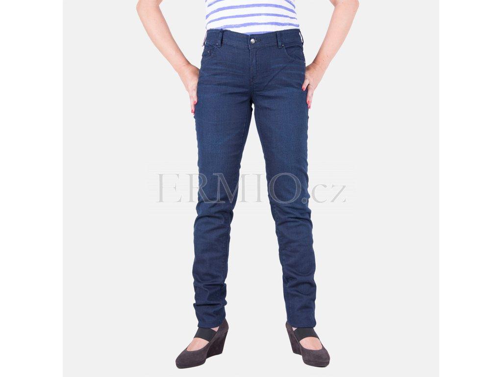Stylové dámské džiny AJ modré