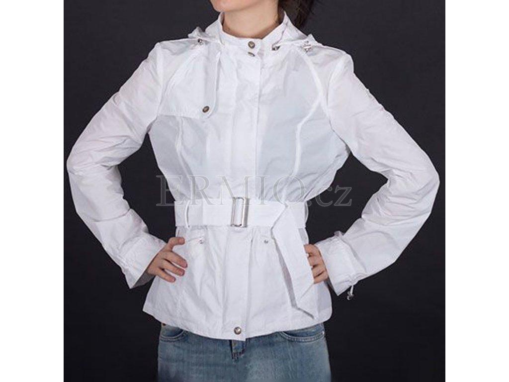 Stylová jarní bunda Armani bílá