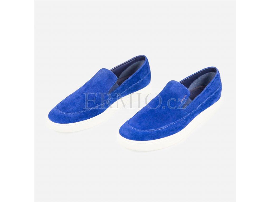 177a011095 Luxusní Značková modrá obuv Prada v e-shopu   Ermio Fashion