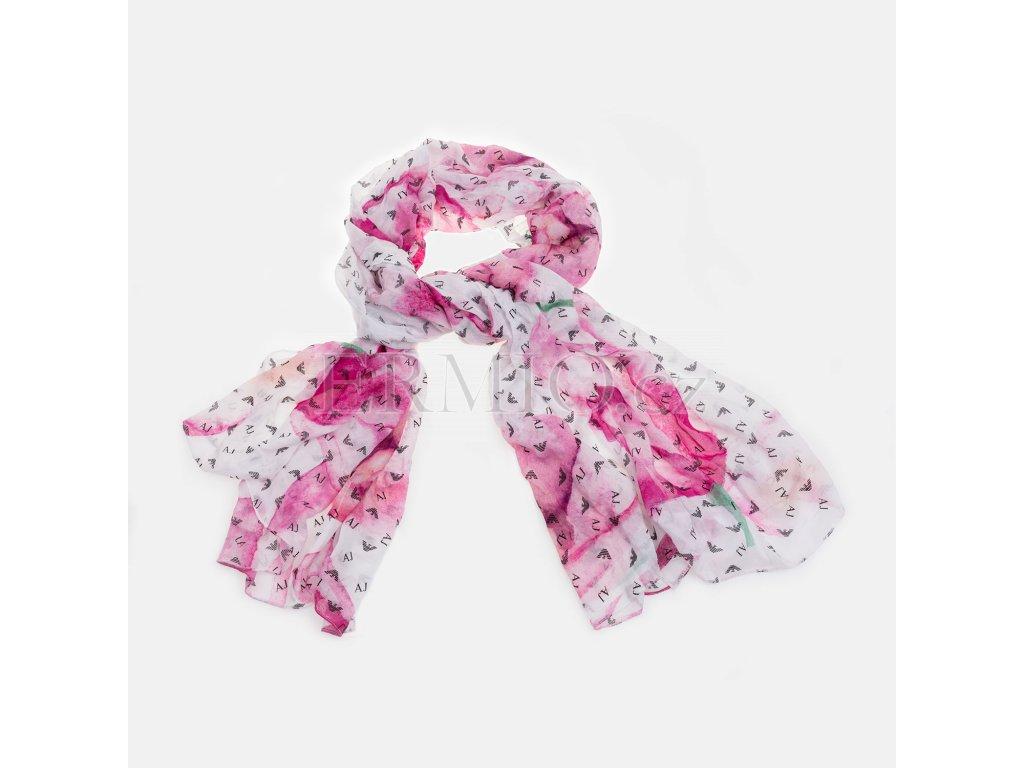 Luxusní Barevný šátek Armani Jeans v e-shopu   Ermio Fashion 4d84c0f33e