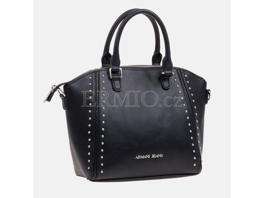 Luxusní Dámská černá kabelka Armani Jeans v e-shopu   Ermio Fashion 55372e18f14