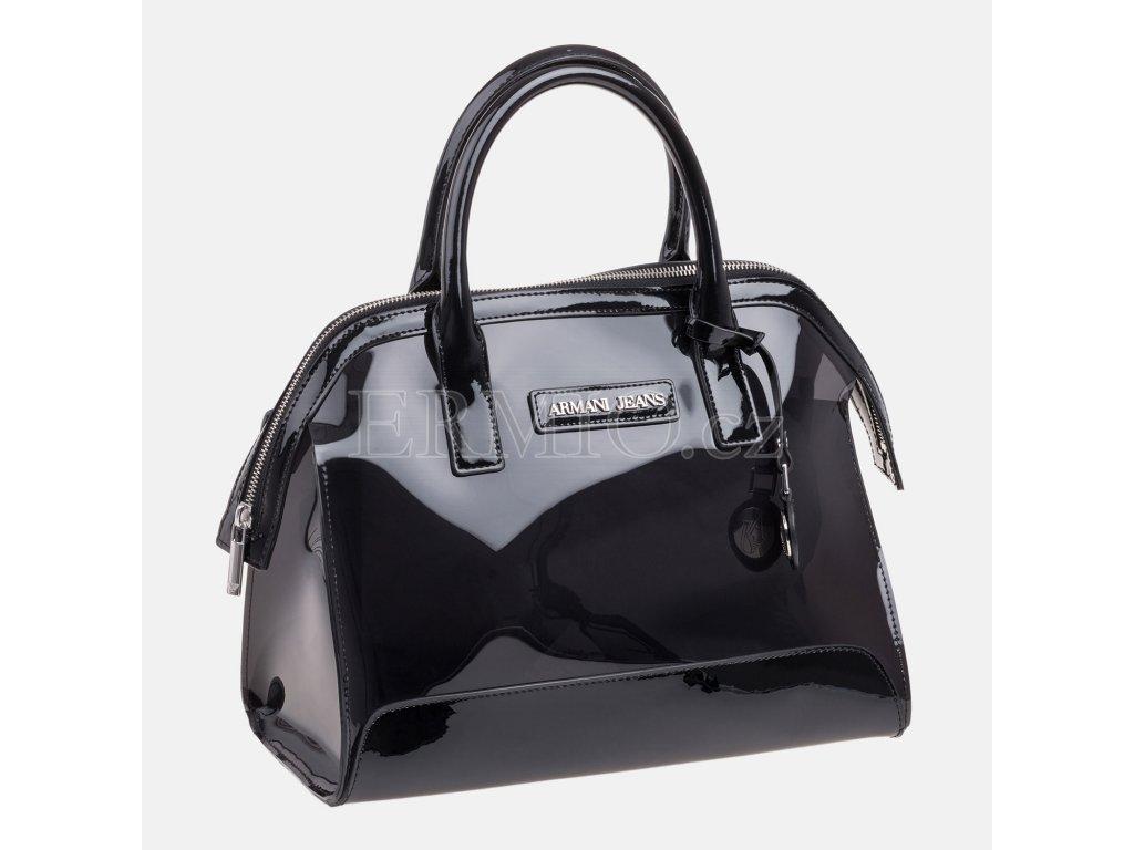 Luxusní Dámská černá kabelka Armani Jeans v e-shopu   Ermio Fashion 33e144efab2