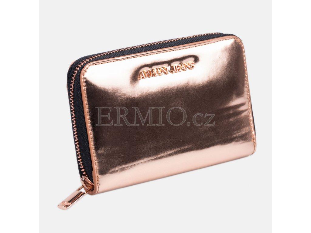 Luxusní Dámská metalická peněženka Armani Jeans v e-shopu   Ermio ... c3aafb9083