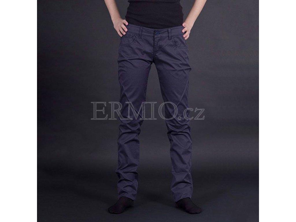 Letní plátěné jeansy Armani modré