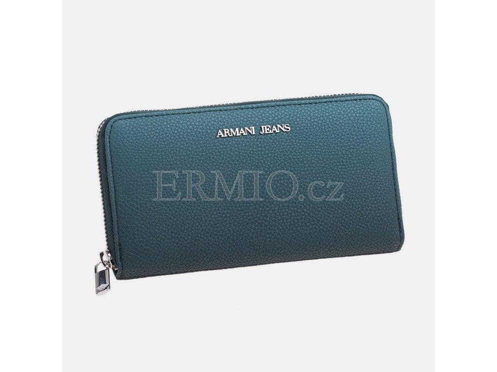 Luxusní Dámská tyrkysová peněženka Armani Jeans v e-shopu   Ermio ... 7e25548190