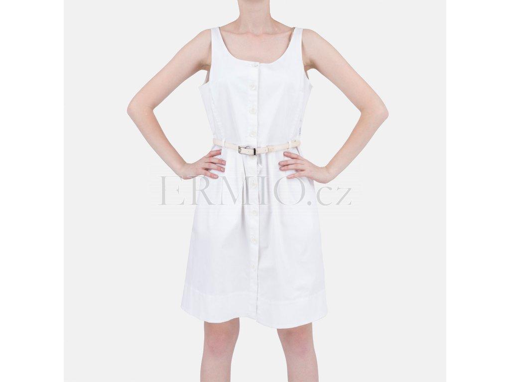 Propínací šaty Armani bílé