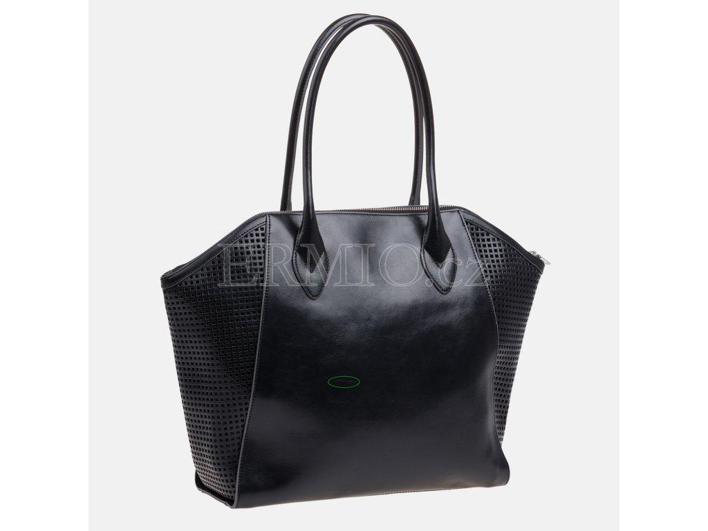 Luxusní Dámská černá kabelka Armani Jeans v e-shopu   Ermio Fashion be4ab0d8868