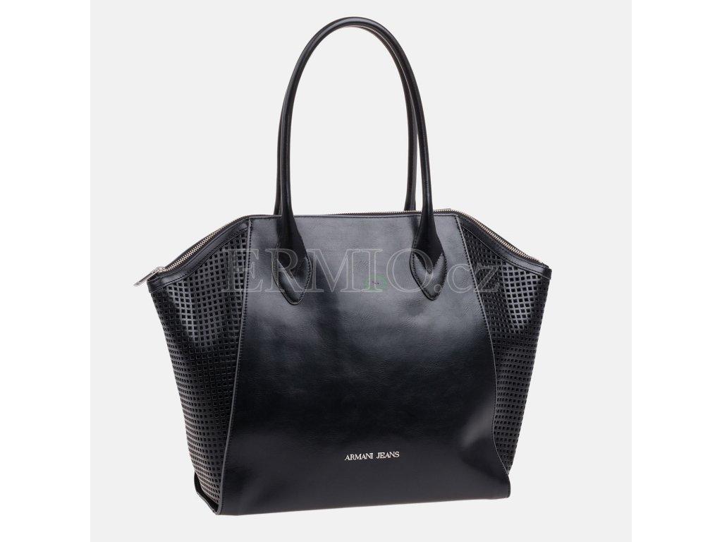 Luxusní Dámská černá kabelka Armani Jeans v e-shopu   Ermio Fashion 68b41563dd