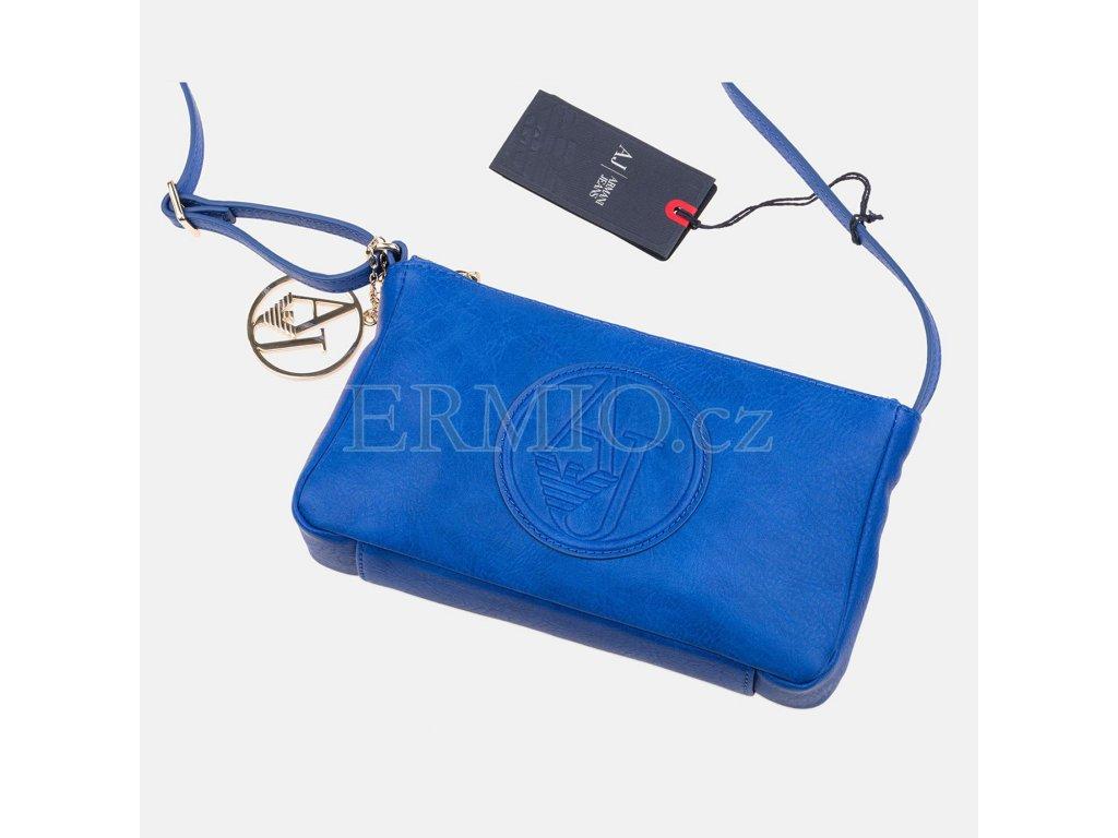 Luxusní Elegantní modrá kabelka Armani Jeans v e-shopu   Ermio Fashion 979e6cb9900
