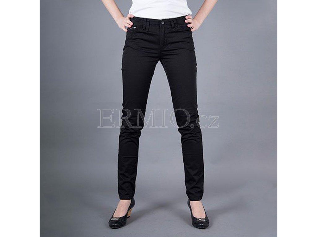 0d6df932138c Luxusní Luxusní dámské džiny Armani Jeans černé v e-shopu   Ermio ...