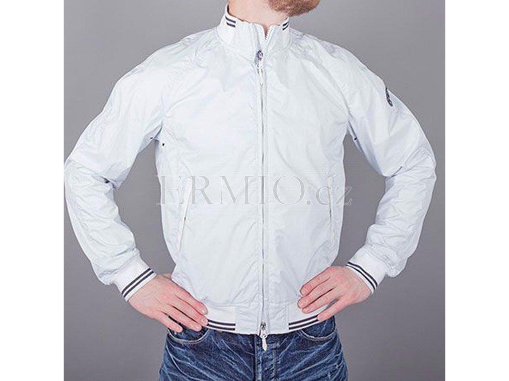 Značková pánská bunda Armani Jeans bílá
