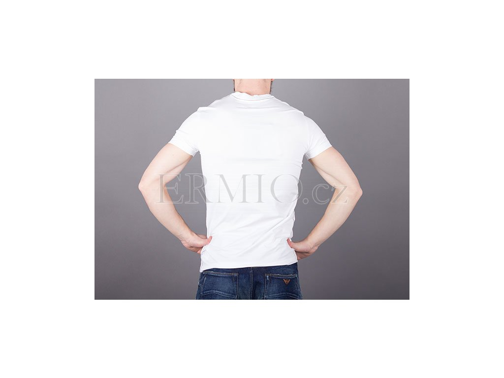 915883656fff Značkové pánské tričko Armani kulaté logo · Značkové pánské tričko Armani  kulaté logo ...