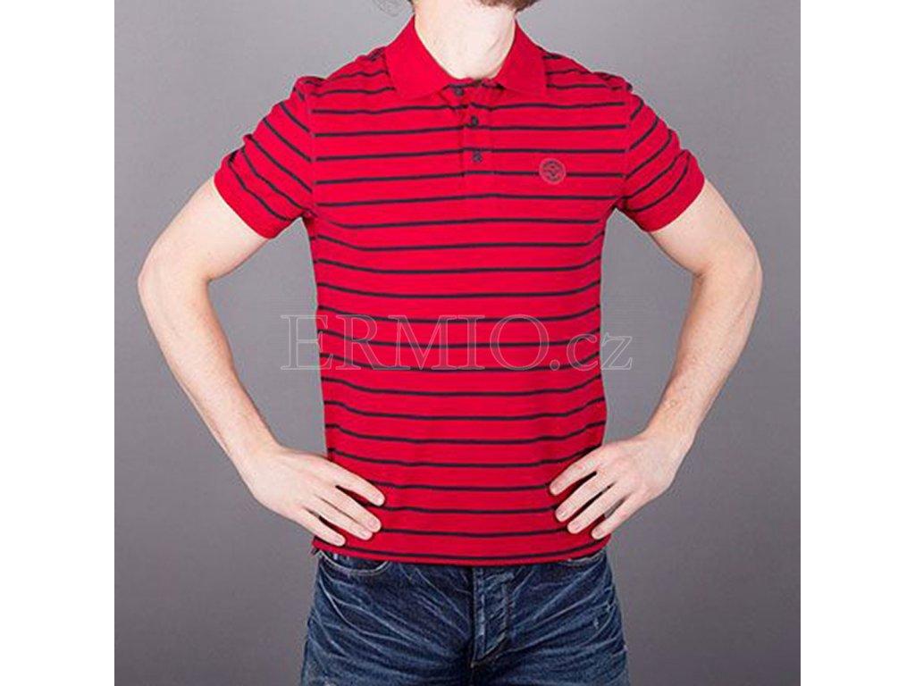 226b94e83 Luxusní Značkové pánské AJ polo tričko červené v e-shopu * Ermio Fashion