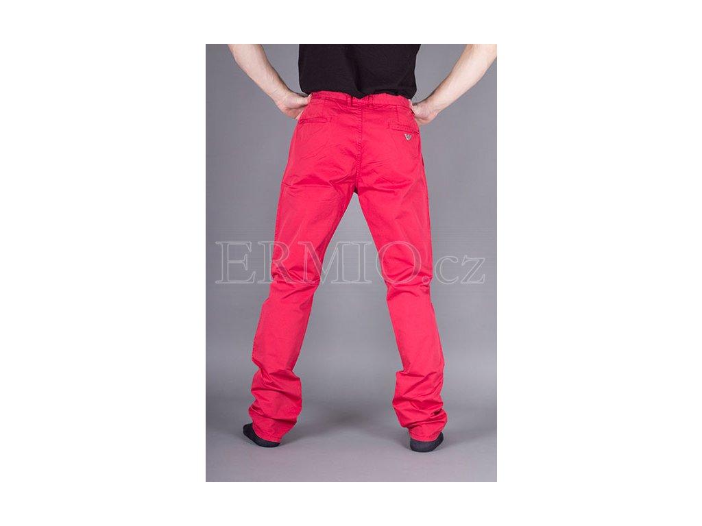 Stylové pánské kalhoty Armani Jeans červené · Stylové pánské kalhoty Armani  Jeans červené ... b1f14472f1