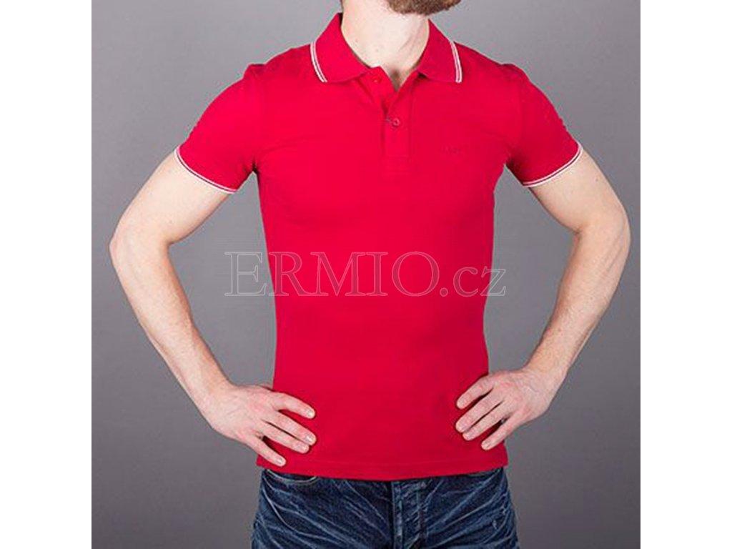 7dcc172aef90 Pánská značková luxusní polo trička Armani