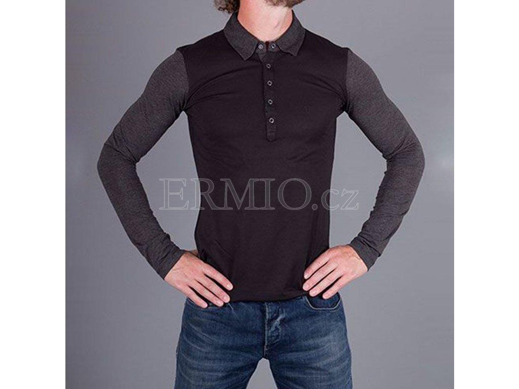 20283bcae41 Luxusní Luxusní triko s dlouhým rukávem Armani v e-shopu   Ermio Fashion