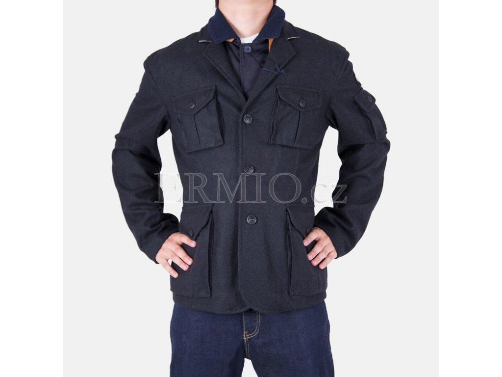 Kabát Armani Jeans černý