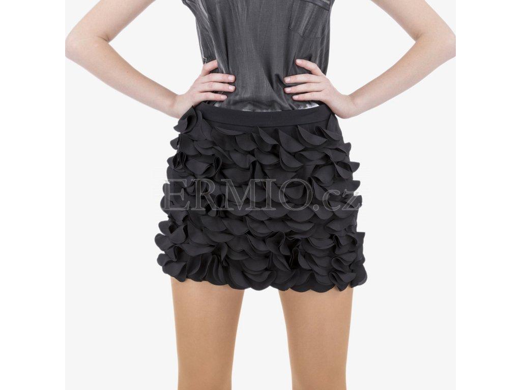 Luxusní Černá sukně Armani Jeans v e-shopu   Ermio Fashion b3deb56ff0