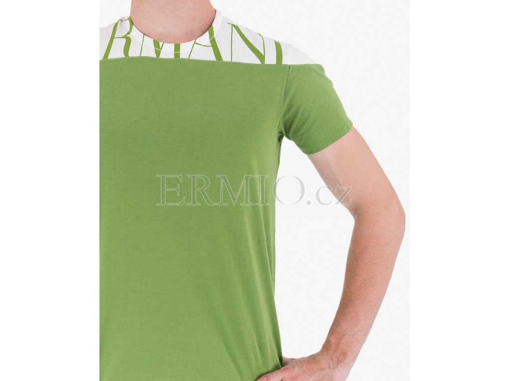 913d4571838c Luxusní Barevné tričko Armani Jeans v e-shopu   Ermio Fashion