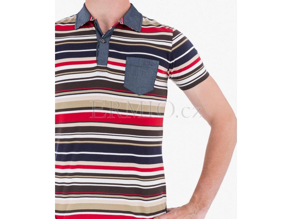ce5b9d9f185b Luxusní Barevné polo Armani Jeans v e-shopu   Ermio Fashion
