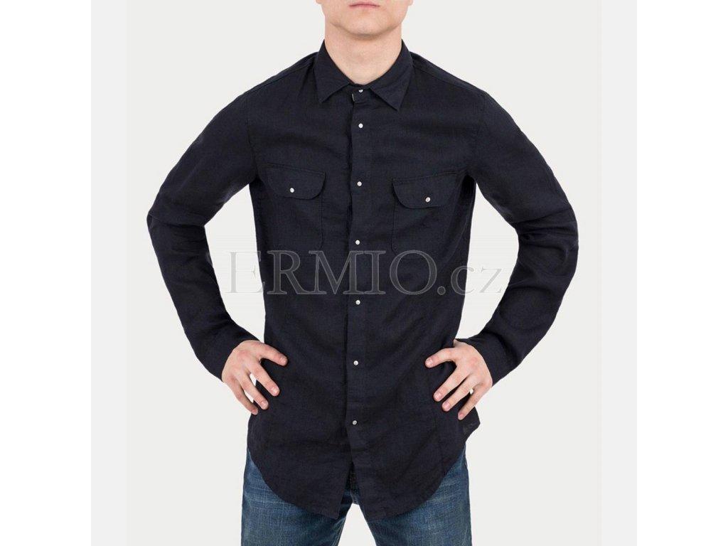 Luxusní inkoustová pánská košile