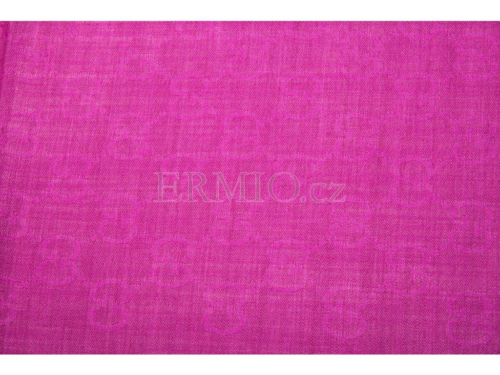 05cb3000f0b Luxusní Vínová šála GUCCI v e-shopu   Ermio Fashion