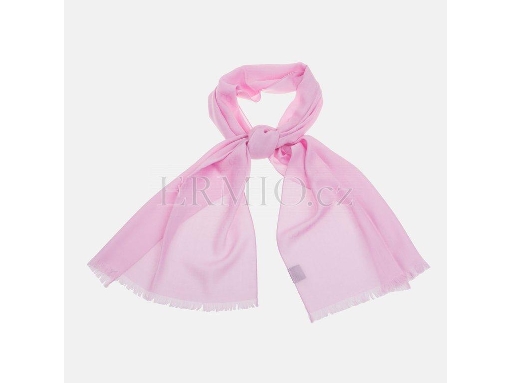Růžová šála GUCCI