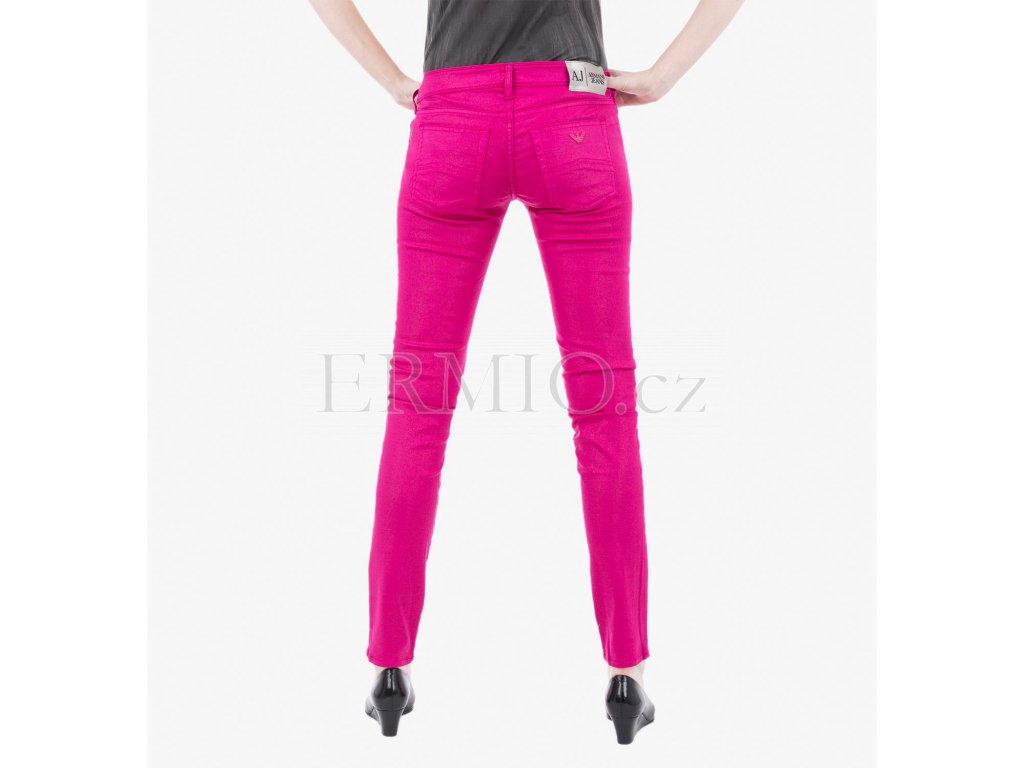 Luxusní Růžové džíny Armani Jeans v e-shopu   Ermio Fashion 60ea3705a7