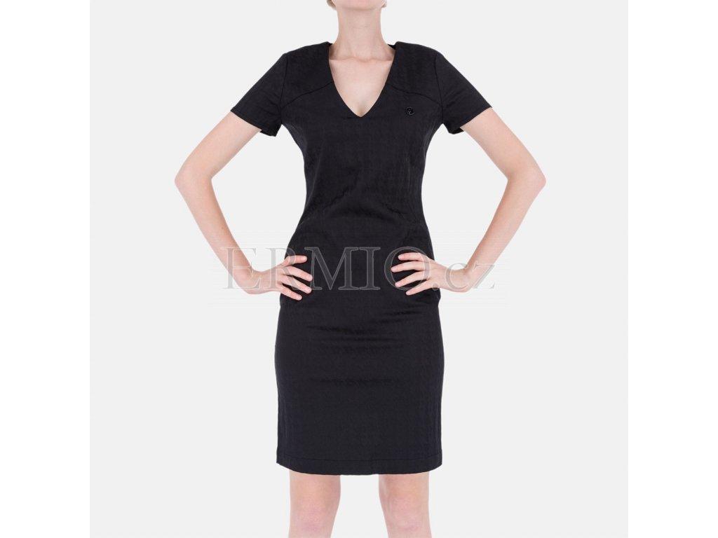 Luxusní Černé šaty Armani Jeans v e-shopu   Ermio Fashion d173e9aeb7