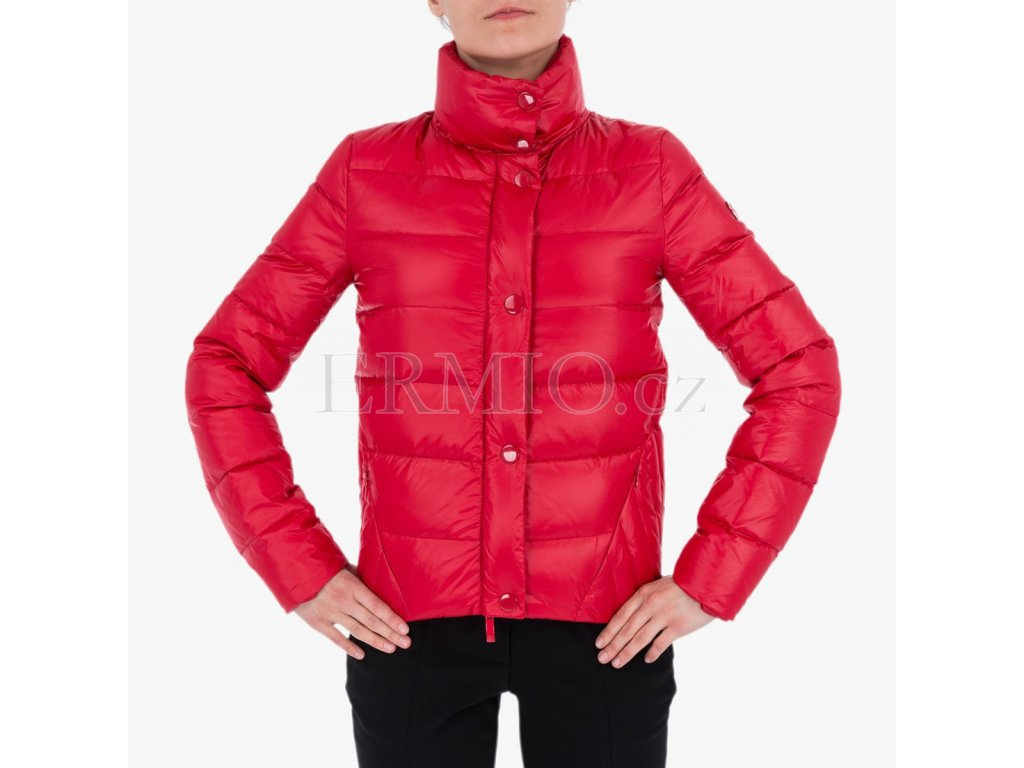 Červená bunda Armani Jeans