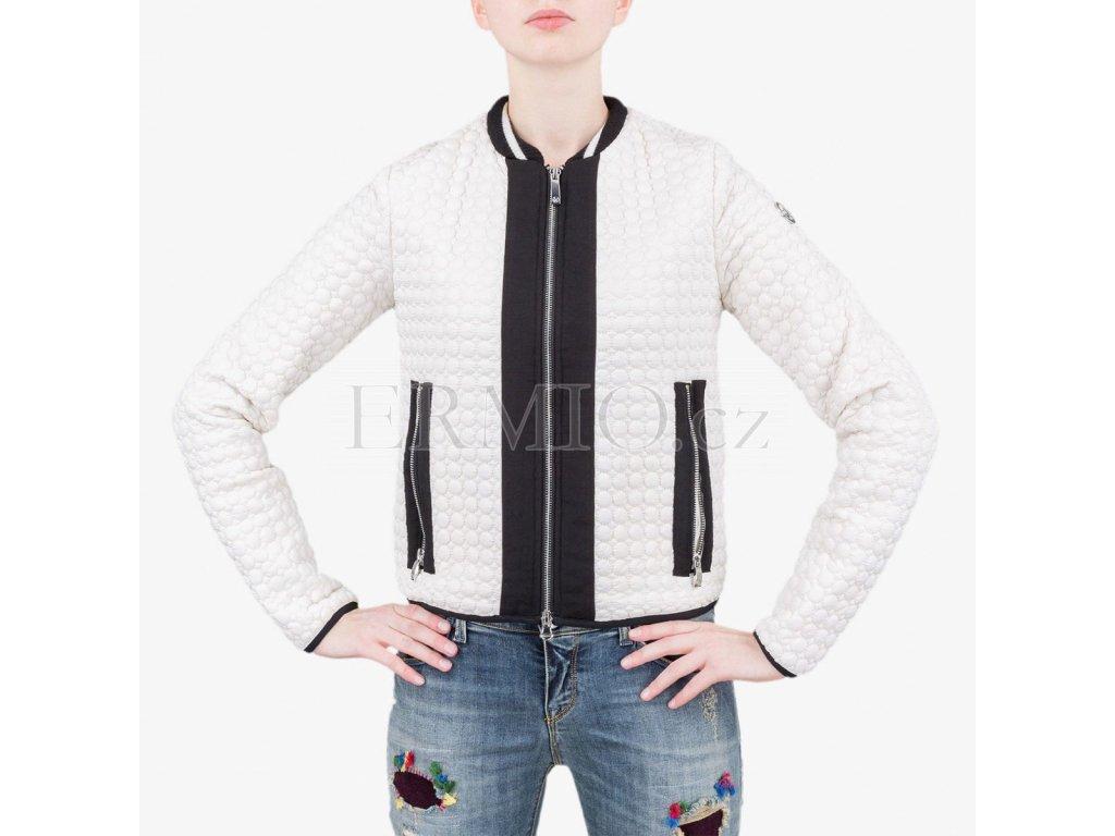 ee7832baa24 Luxusní Bílý kabátek Armani Jeans v e-shopu   Ermio Fashion