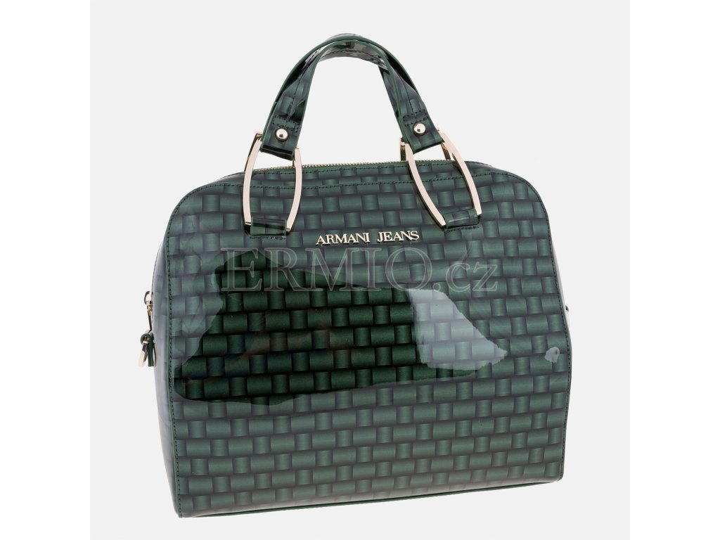 525e9521e471 Luxusní Zelená kabelka Armani Jeans v e-shopu   Ermio Fashion