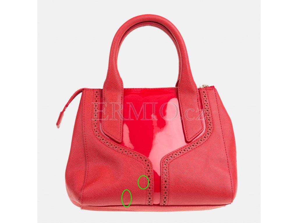 Luxusní Červená kabelka Armani Jeans v e-shopu   Ermio Fashion 15b25c1faf
