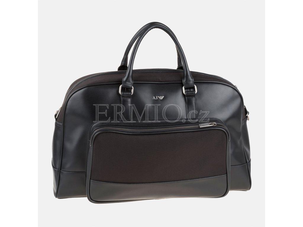 Luxusní Černá taška Armani Jeans v e-shopu   Ermio Fashion 03cedd87d9b