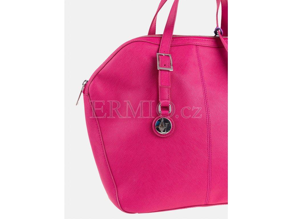 Luxusní Růžová kabelka Armani Jeans v e-shopu   Ermio Fashion 6507675a90
