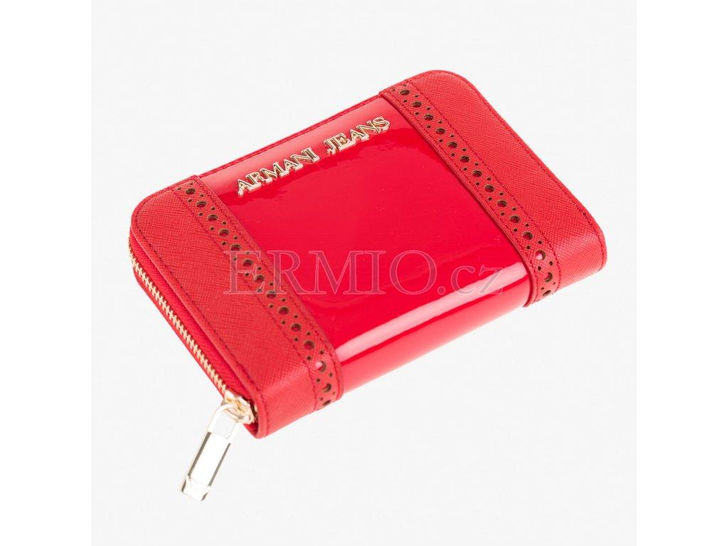 Luxusní Červená peněženka Armani Jeans v e-shopu   Ermio Fashion 9b9ede6702